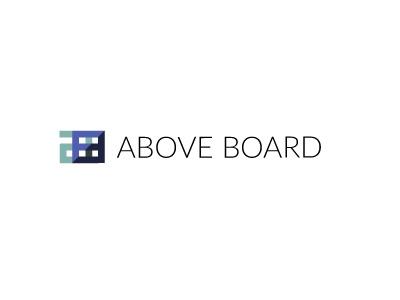 AB design agency geometric design logo branding