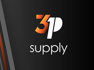 3P Logo Concept 3 logotype brand design branding logo