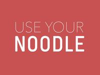 Noodle (flat)