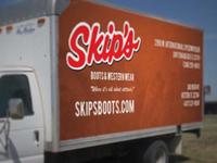 Skip's Truck Banner/Wrap