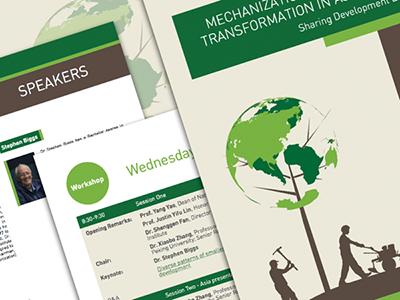 Brochure Design agriculture print brochure