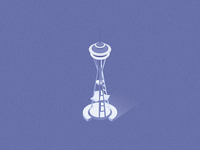 Isometric Space Needle
