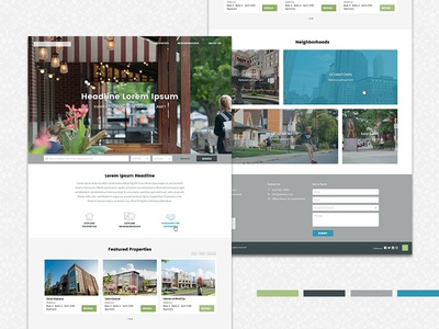 Real Estate Website Styling
