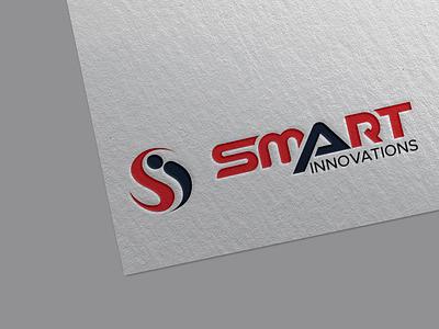 Innovations Logo illustrator vector branding design flat minimal logo