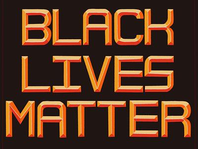 BLACK LIVES MATTER black lives matter art typography art vector 36daysoftype illustration design font type daily typeface design typeface type typography procreate lettering hand lettering