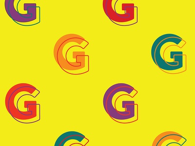 """""""G"""" typography type font 36daysoftype"""
