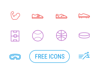 Free Sport Icons free sport sports icon icons pack packs freebies