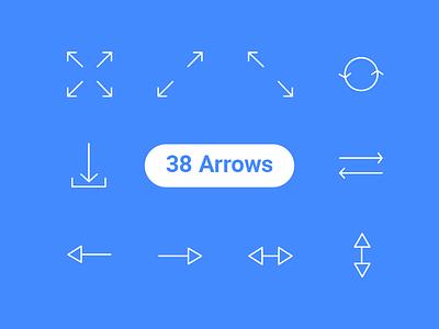 Free Arrows Icons