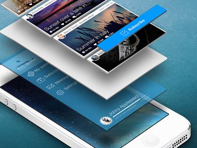 iOS Layering