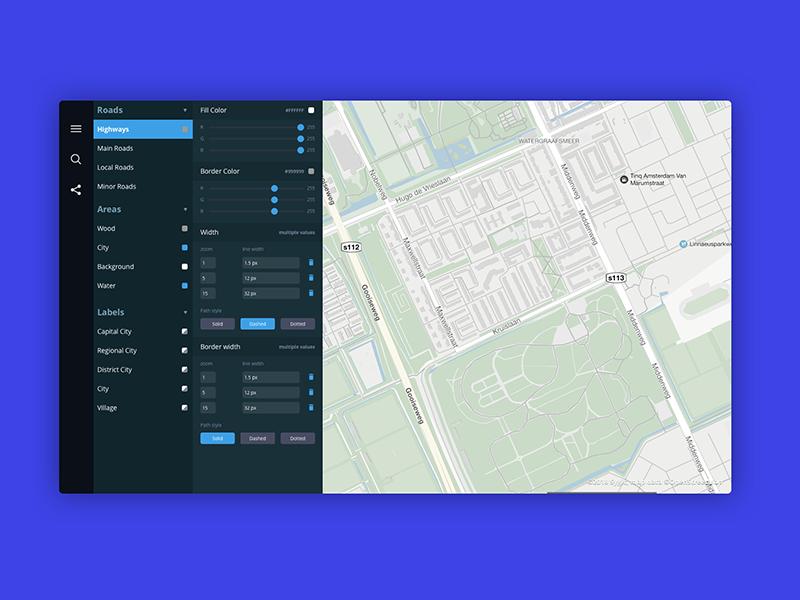Map Editor Concept ui concept editor map