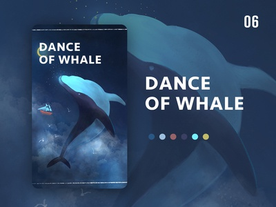 Dance of whale