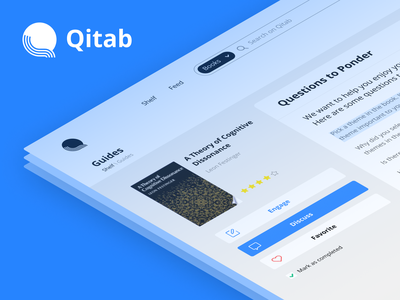 UX/UI redesign for a reading platform uiux ux library discussion chat club book reading book online platform web