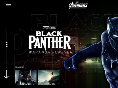 Black Panther Website Template social media marketing agency social media marketing social media social media design graphic design digital digital marketing agency digital marketing creative design creativeartadda