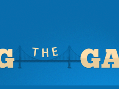 Bridging The Gap promotion email banner