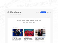 The Grator Main Page