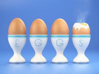 4 Lightly-boiled Eggs