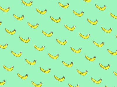 Banana vector illustration minimal icon flat adobe xd design adobexd adobe design branding