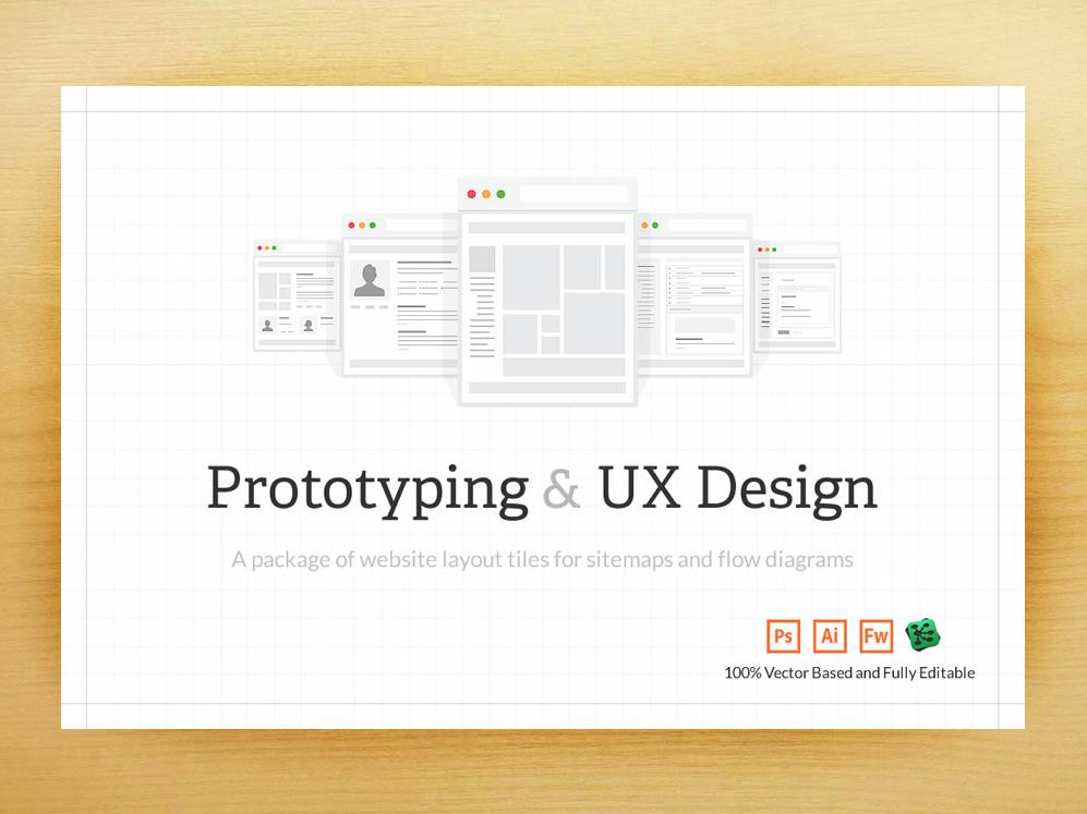 UX Web Tiles flow diagram interaction design user experience sitemap site flow ux