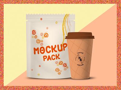 Mockup Design for Food Packaging