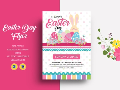 Easter Egg Hunt Invitation Template ms word photoshop template egg hunt invite easter hunt schedule easter flyer easter party flyer easter party hunt schedule invitatoin template party invitation party flyer