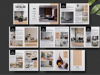 Interior Design Brochure Template interior designer printable layout photoshop template portfolio brochure design interior