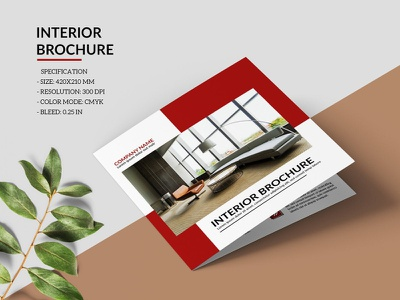 Interior Design Brochure Template psd photoshop template real estate minimal brochure company brochure multipurpose creative brochure corporate brochure brochures interior interior brochure