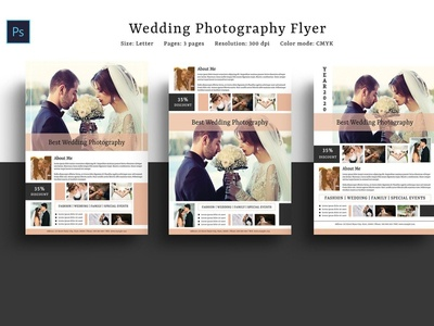 Photography Flyer Template marketing price list wedding photography marketing flyer photoshop template studio photography wedding professional photographer photography flyer