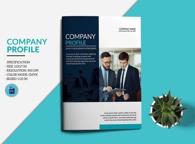 Company Profile Brochure Template proposal photoshop template corporate brochure multipurpose creative clean minimal business brochure company brochure profile brochure company profile