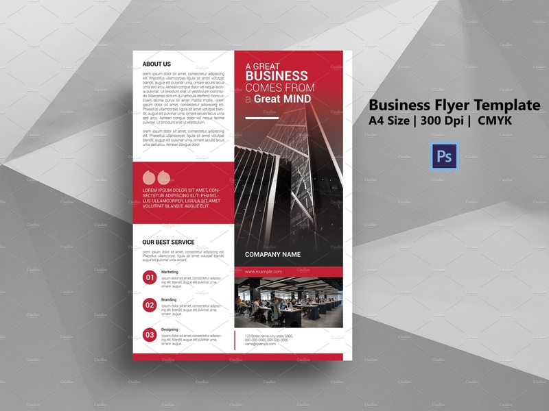 Printable Corporate Flyer flyer layout business corporate photoshop template flyer template cerative clean minimal company flyer corporate flyer business flyer