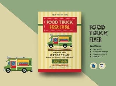 Food Truck Flyer Template pizza street food menu food truck food festival ms word photoshop template fundraiser template sale banner sale flyer promotional flyer food truck