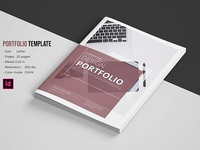 Portfolio Template indesign template minimal portfolio creative professional advertising multipurpose photographer designer portfolio portfolio brochure portfolio template
