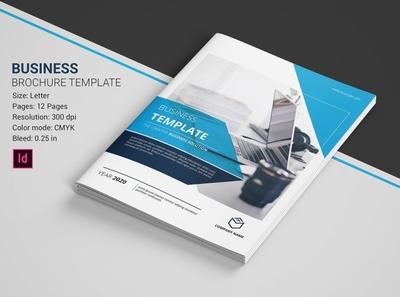 Business Brochure Template company profile proposal indesign template brochure template clean multipurpose minimal creative corporate brochure business brochure