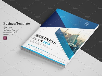 Creative Business Brochure bifold brochure indesign template annual report proposal professional minimal corporate brochure creative brochure business brochure