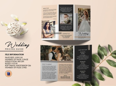 Photography Brochure template editable brochure design pricing brochure fashion photography photoshop template brochure template marketing brochure photography studio photographer photography brochure