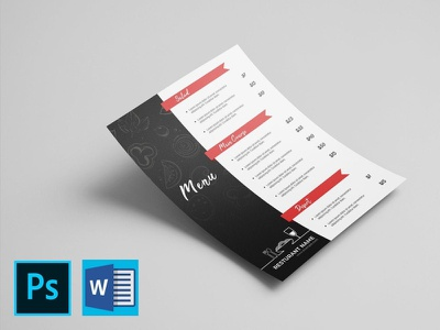 Template For Flyers For Microsoft Word from cdn.dribbble.com