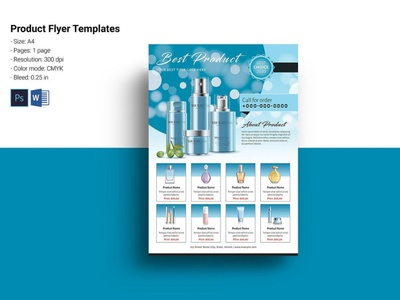 Product sale flyer ms word photoshop template product promo flyer fashion product catalog flyer product display multipurpose sale offer sale flyer product sale