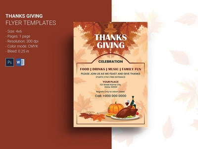 Thanksgiving Invitation Flyer ms word photoshop template festival fall party invitation invitation flyer party flyer thanksgiving party thanksgiving invitation thanksgiving thanksgiving flyer thanksgiving invitation flyer
