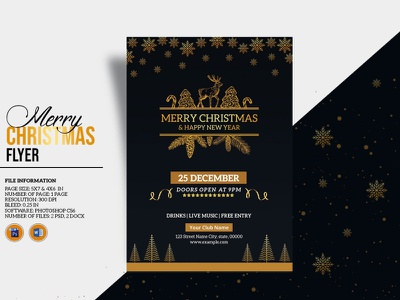 Christmas Party Flyer ms word photoshop template holiday invitation holiday party christmas invitation flyer christmas party christmas invitation party flyer christmas flyer christmas party flyer