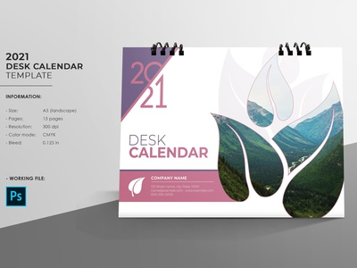 Desk Calendar Designs Themes Templates And Downloadable Graphic Elements On Dribbble