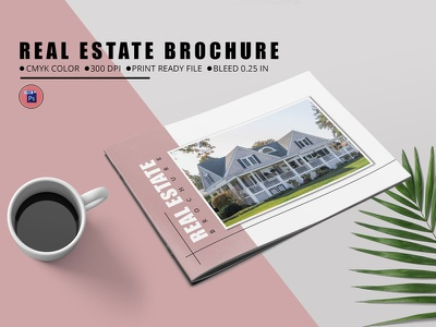 Real Estate Brochure Template photoshop template marketing advertising adency company brochure business brochure corporate brochure corporate business brochures real restate catalog real estate real estate brochure
