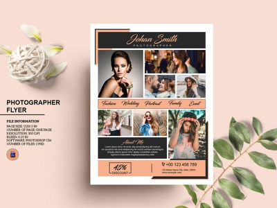 Photography Flyer Template professional advertising marketing flyer promotional flyer photo studio photoshop template studio flyer photographer business flyer photography business photography flyer
