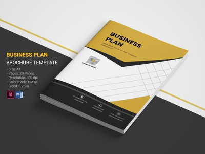 Creative Business Plan minimal creative brochure ms word indesign template proposal company brochure corporate brochure business brochure business plan creative business plan