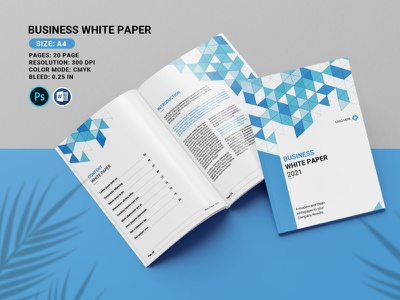 Business White Paper Brochure ms word psd photoshop template finance multipurpose brochure clean minimal company brochure corporate brochure business brochure business white paper business white paper brochure