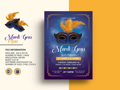 Mardi Gras Party Flyer Template mardi gras invitation ms word photoshop template carnival party carnival flyer mardi gras event mardi gras mardi gras party flyer mardi gras flyer mardi gras party