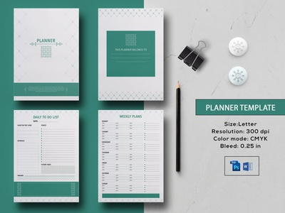 Printable Planner Template editable planner ms word photoshop template calendars and planner daily planner weekly planner to do list planner printable planner planner template