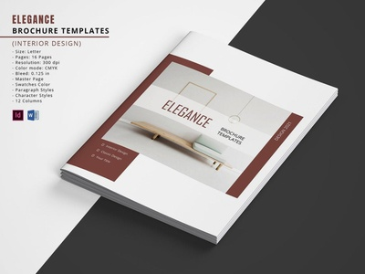 Printable Interior Designer Brochure Template interior magazine ms word indesign template portfolio interior interior portfolio interior catalog printable brochure interior brochure interior designer