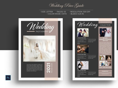 Wedding Photography Price List marketing template photography pricing photography studio photoshop template price guide marketing flyer price list wedding price list photography price list wedding photography