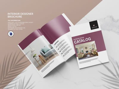 Interior Brochure | Catalog minimal interior design photoshop template interior studio multipurpose real estate interior protfolio interior magazine interior catalog interior brochrue