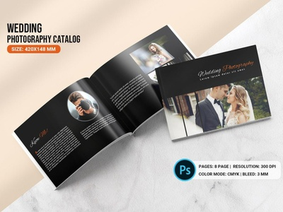 Wedding Photography Brochure Template For Photographer photoshop template photography catalog wedding catalog price list photography price list wedding brochure wedding photographer photography brochure wedding photography
