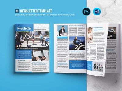 Newsletter Template ms word photoshop template modern newsletter clean newsletter newsletter design letter company brochure universal modern magazine multipurpose corporate template business report elegant clean corporate newsletter business newwsletter newspaper newsletter template